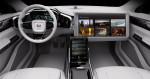 концепт Volvo с большим экраном 2015 фото 07