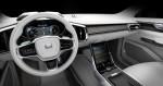 концепт Volvo с большим экраном 2015 фото 09