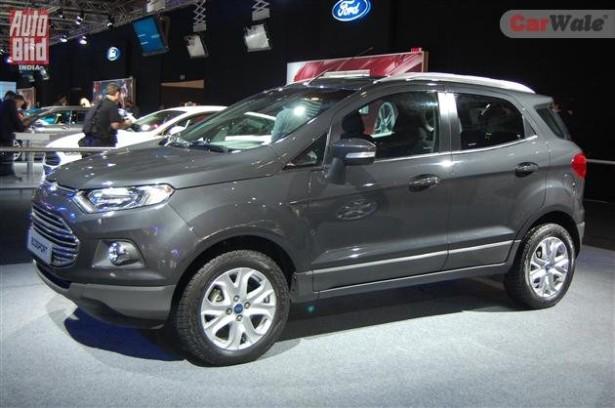 FordSollers установит российский двигатель на компактный кроссовер EcoSport