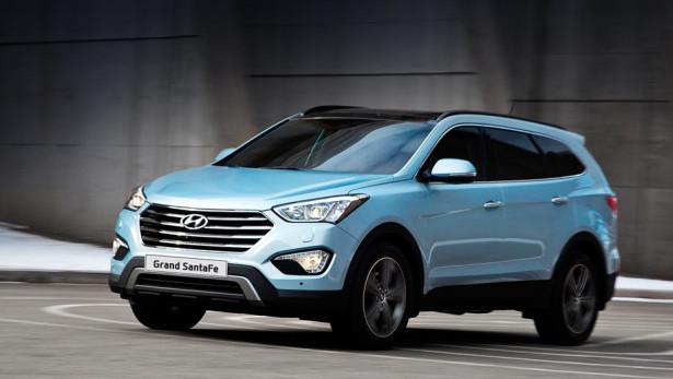 Hyundai Grand Santa Fe оснастили новым турбированным мотором