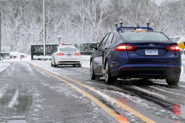 Испытания Ford автопилот 2015 Фото 08