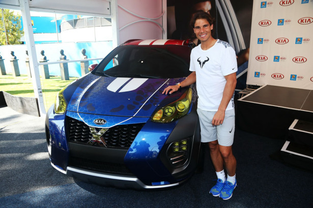 Kia X-Car Рафаэль Надаль 2016 Фото 01