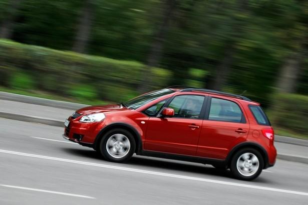 Кроссовер Suzuki SX4 временно покинул российский рынок