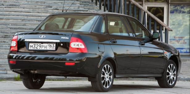 Lada Priora останется на рынке только в кузове седан