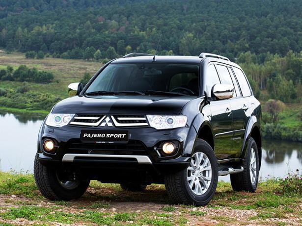 Mitsubishi будет поставлять Pajero Sport в Россию из Тайланда