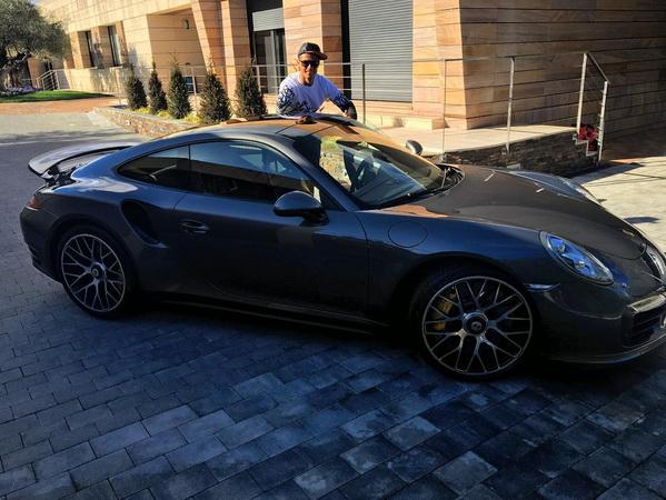 Porsche 911 Turbo S Криштиану Роналду