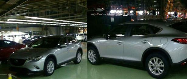 Появились снимки Mazda CX-4 без комуфляжа