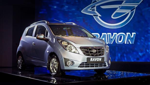 Ravon R2 поступил в 17 дилерских центров по всей России