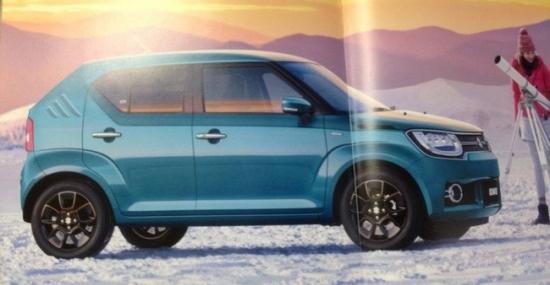 Suzuki готовит к реализации новый кроссовер Ignis