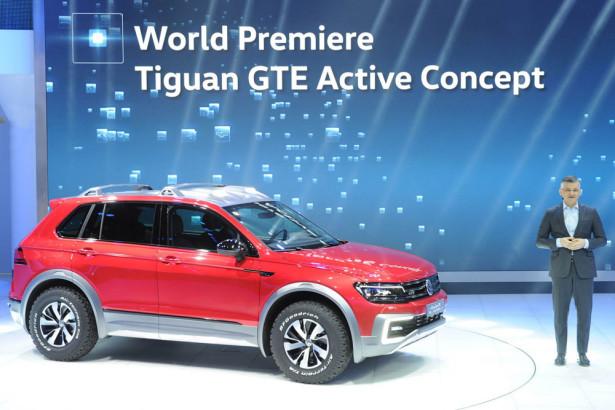 Volkswagen Tiguan GTE Active 2016 Фото 01