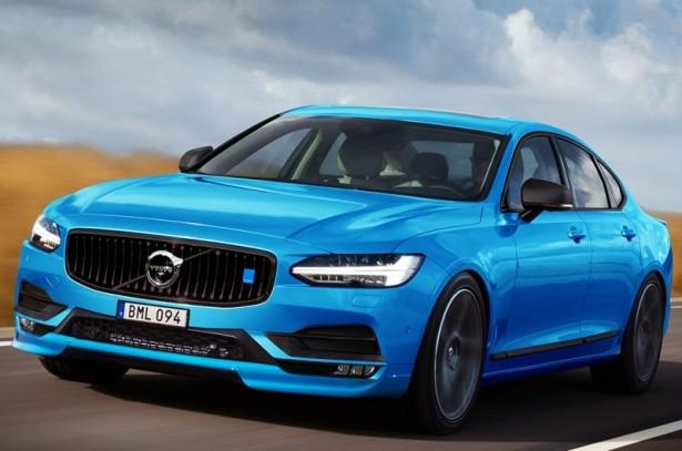 Volvo S90 Polestar может составить конкуренцию BMW M5