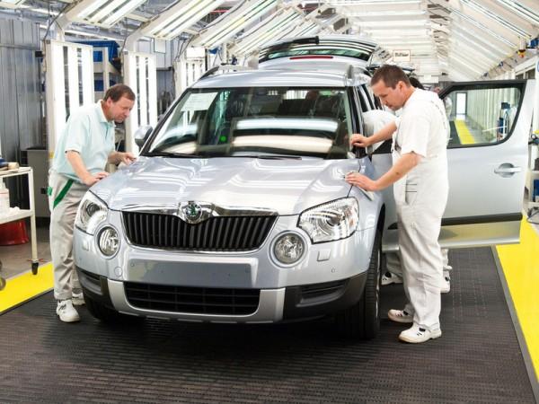 Завод Volkswagen в Нижнем Новгороде возобновил свою работу