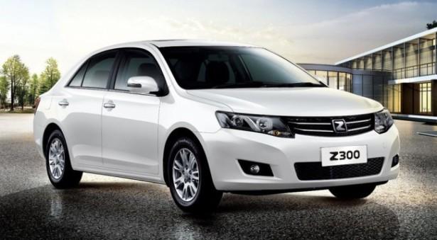 Zotye привёз в Россию новый седан С-класса