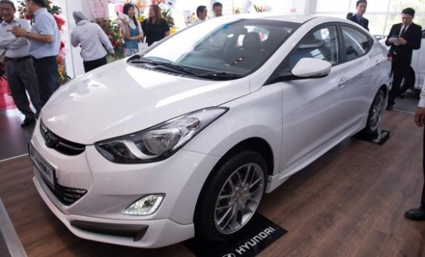 Hyundai усилит двигатель на Elantra Sport в 2017 году