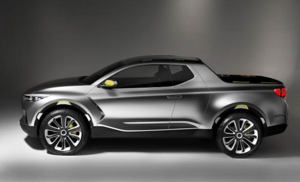 KIA Sportage вырасте в пикап, на базе концепта от Hyundai