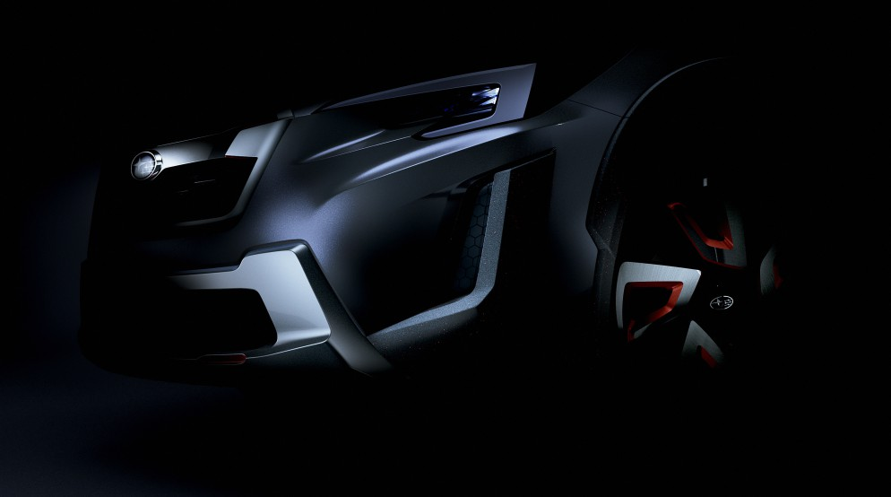 Концепт-кар Subaru XV презентуют в Женеве