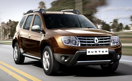 Кроссовер Renault Duster получит платформу CMF от Nissan