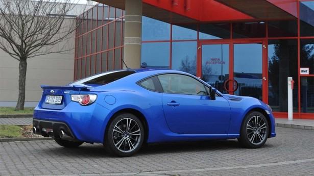 Купе Subaru BRZ  появится в России уже в марте этого года