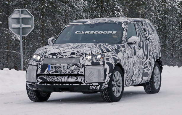 Land Rover Discovery 2017 Фото 01