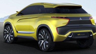 Mitsubishi привезёт в женеву концепты кроссоверов на базе ASX и L200
