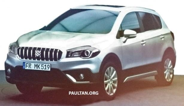 Рассекреченный Suzuki SX4 приедет в Россию осенью 2016 года