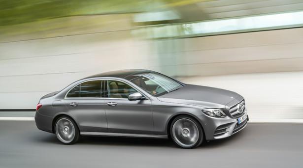Стартовали продажи нового бизнес-седана Mercedes-Benz E-class