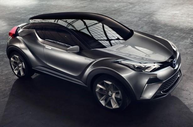 Тизеры нового Toyota CH-R 2016опубликованы в сети