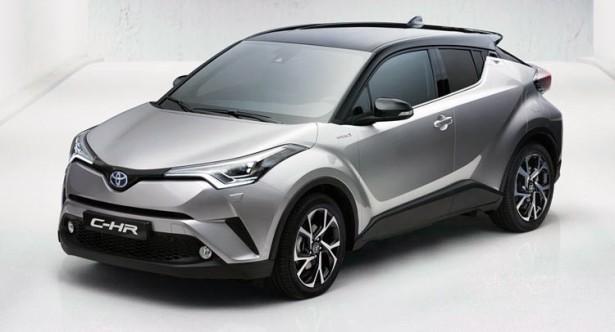 Toyota опубликовала официальные изображения кроссовера CH-R накануне премьеры
