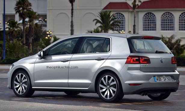 VW Golf Mk8 2016 Фото 01