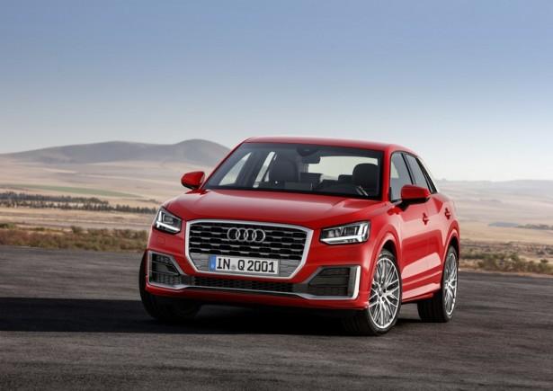 Audi окончательно рассекретил новый компактный кроссовер Q2