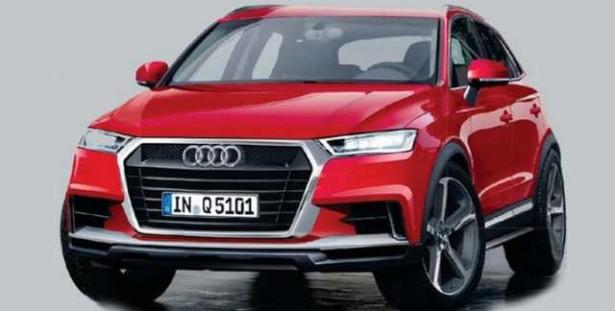 Audi вывела на тесты новый кроссовер Q5