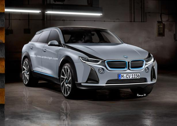 Электромобиль BMW i5 2017 Фото 01