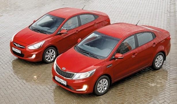 KIA Rio и Hyundai Solaris в очередной раз подорожали