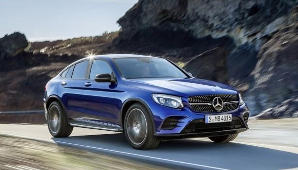 Кросс-купе Mercedes-Benz GLC-Coupe дебютировал на автосалоне в Нью-Йорке