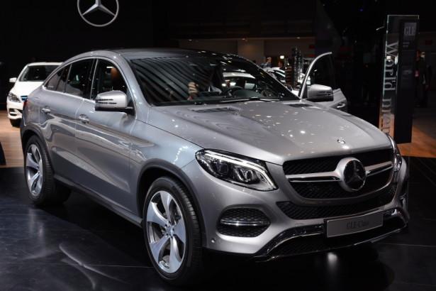 Mercedes-Benz привезет новый GLC Coupe на московский автослаон