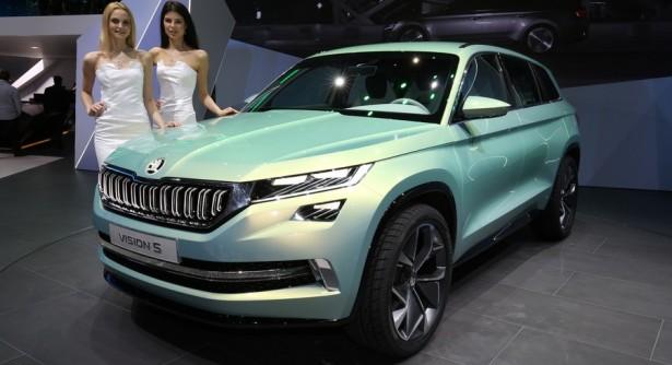 На автосалоне в Женеве показали концепт Skoda Vision S