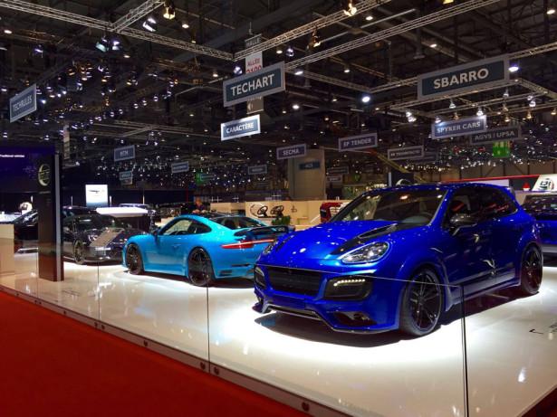 Porsche Cayenne Tech Art Magnum Sport 2016 Фото 02
