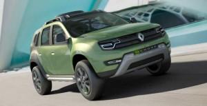 Renault выпустит новую генерацию кроссовера Duster в 2017 году
