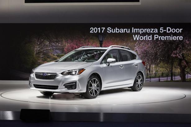 Subaru Impreza Hatchback 2017 Фото 06