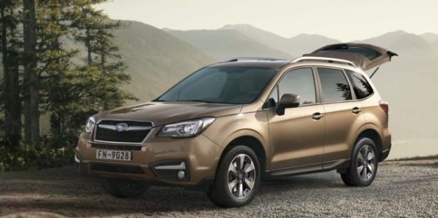 В мае в Россию приедет рестайлинговый Subaru Forester