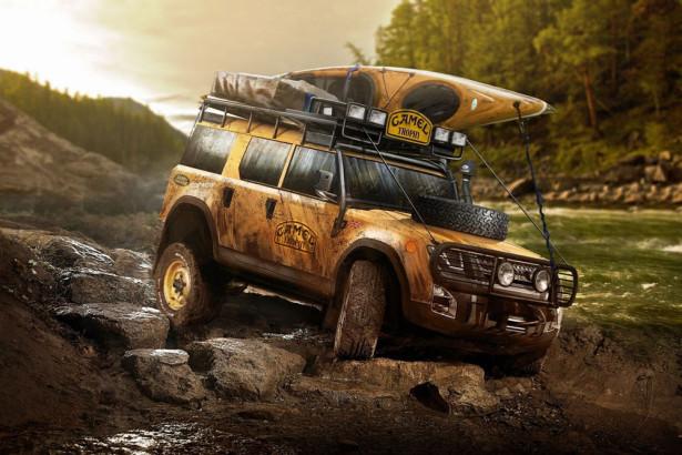 экскизы Land Rover Defender 2017 Фото 03