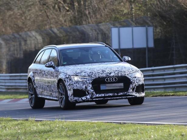 Audi установит на универсал RS4 Avant 500-сильный мотор