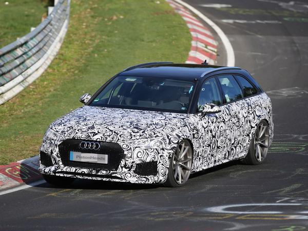 Audi установит на универсал RS4 Avant 500-сильный мотор1