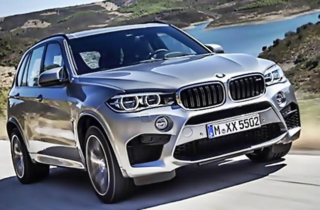 BMW в 2017 году готовится представить обновленный кроссовер X5