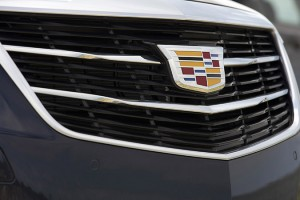 2015 Cadillac ATS Coupe featuring the new Cadillac crest