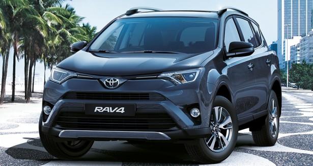 Кроссовер Toyita RAV4 стал лидером продаж японской марки