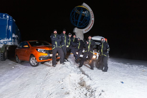 LADA XRAY в Арктике 2016 - Фото 11