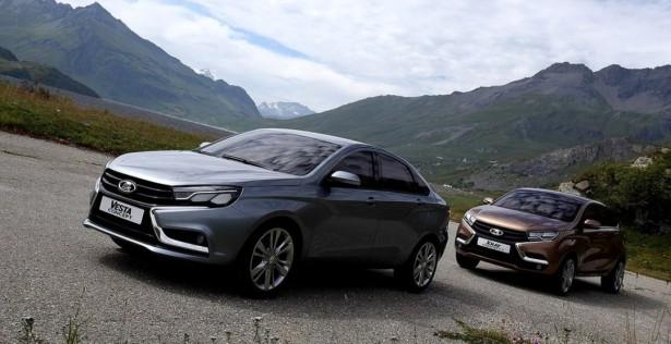 Lada Vesta вошла в ТОП-5 самых популярных моделей России