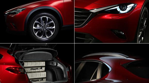 Mazda показала изображения нового кросс-купе CX-4