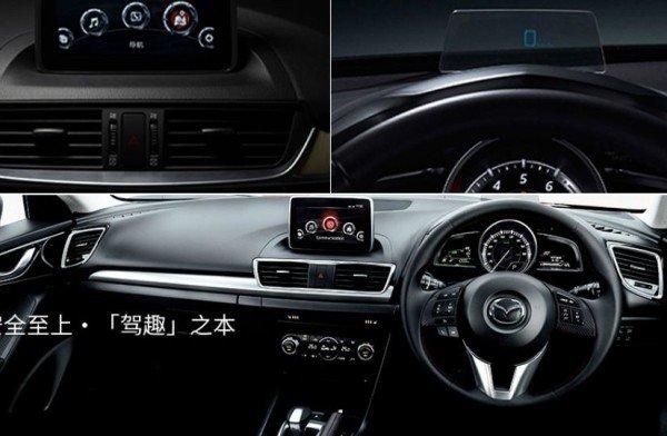 Mazda продемонстрировала интерьер кроссовера CX-4